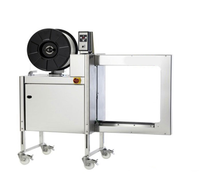 Stainless steel strapping machine
